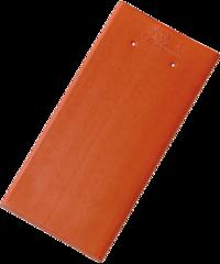 Tasche eckig Engobe Rot