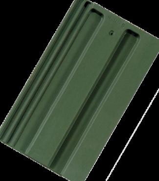 Strangfalz gepresst Engobe dunkelgrün