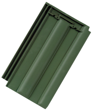 Wiener Norma Engobe dunkelgrün
