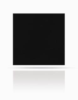 Dachplatte 40/40 Schwarz