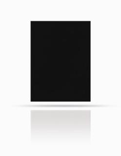 Dachplatte 40/30 Schwarz
