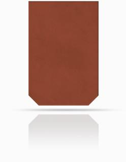 Dachplatte 60/40 Rot