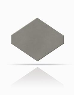 Rhombus-Schablone 40/44 Naturgrau