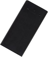 Tasche eckig Engobe schwarz